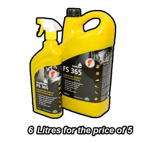 Scottoiler FS365  6 ltrs for the price of 5 £28.95 @ Bikespeed