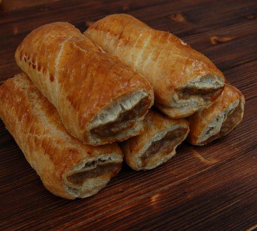 2 waterfields sausage rolls £1