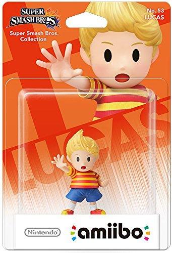 Lucas Amiibo for Nintendo - Super Smash Series £3.32 Prime @ Amazon