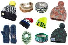 Superdry bobble hats, beanies, mittens and headbands now £5.99 delivered @ eBay sold by Superdry