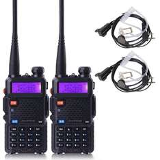Amazon Deal of The Day - BaoFeng UV-5R Dual Band Two Way Radio 2 pack,+Zastone two- Way Radio Earpiece 2 pack - £23.78 @ Sold by Meisort and Fulfilled by Amazon