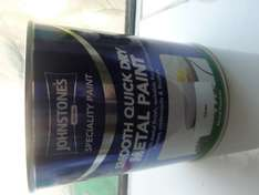 Johnstons Metal Paint Silver £2 instore Trago mills