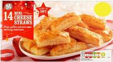 Morrisons Cheese Straws (204g) was £1.00 now 50p @ Morrisons