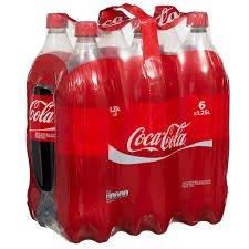 Coca Cola and Diet Coke 6 x 1.25L Bottles £3 - Asda