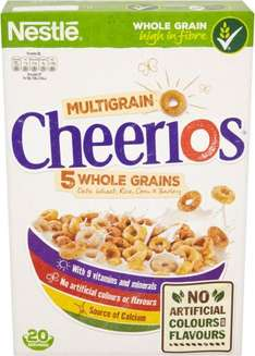 Nestle Cheerios Cereal (600g) was £3.00 now 2 packets for £4.00 @ Asda