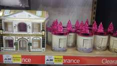 tesco baylis and Harding candle and candle set £2 instore