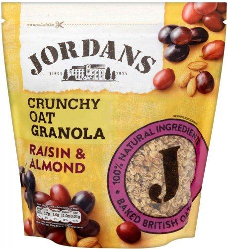 Jordans Crunchy Oat Granola Raisin & Almond 850g was £2.95 now £1.47 @ Iceland