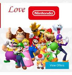 Valentine's Day - 14% off Selected Nintendo Merchandise @ Nintendo store (Today only)