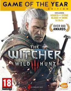 The Witcher 3 GOTY PC Download (GOG not Steam) £17.49