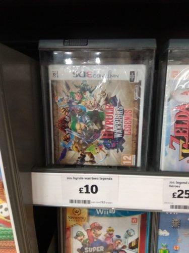 Hyrule Warriors 3DS £10 instore @ Sainsbury's