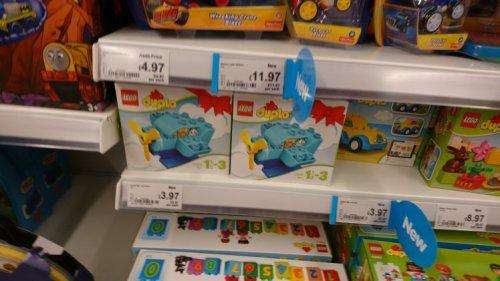 Lego Duplo £3.97 instore at Asda