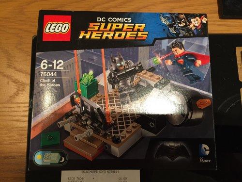 £6 Lego Batman vs Superman Clash of Heroes instore @ Tesco