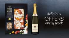 Pizza and Prosecco Meal Deal £10 instore @ M&S (+ Buy one get second half price on selected desserts)