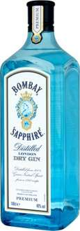 Bombay Sapphire Gin 1L £18 at Sainsbury's online and in-store