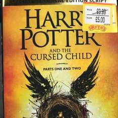 Harry Potter & The Cursed Child hardback reduced to £5 at Smyths Toys instore and online