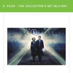 the x files box set blu ray £58.49 with code @ zavvi