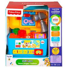 Fisherprice Laugh & Learn Smart Stages Toolbox £6.99 B&M