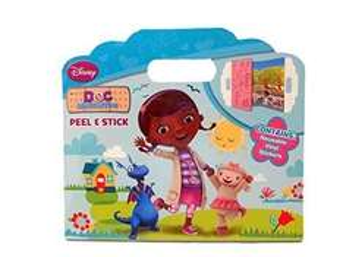 Disney Doc McStuffins Peel & Stick - Home Bargains (Kingsteignton) - 59p