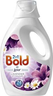 Bold 2in1 Lotus Flower & Lily or Lavender & Camomile Washing Liquid (24 washes = 1.2L) was £5.97 now £2.77 @ Morrisons