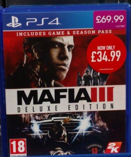 Mafia 3 Deluxe Edition at Game (Instore) - £34.99