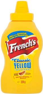 French's Classic Yellow Mustard (Squeezy) (226g) was £1.49 now 74p @ Waitrose
