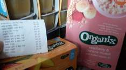 organix baby food porridge purees snacks 20p @ sainsburys instore Harrow
