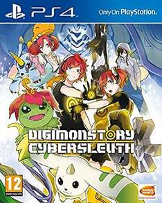 DIGIMON Story: Cyber Sleuth (PS4) delivered @ Amazon - £14.99 (Prime or add £1.99)