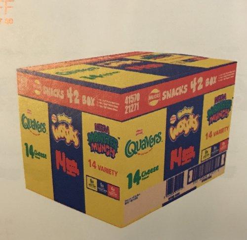 Walkers Snack Box 42 packs inside £3.10 @ Costco