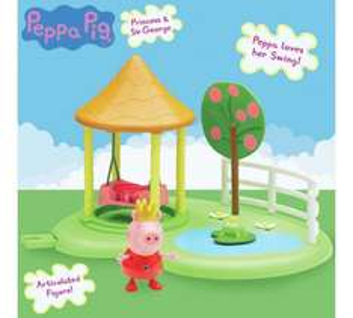 Peppa Pig Peppa Princess Enchanting Garden Playset - £4.99 @ Argos