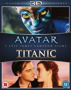 Avatar 3D / Titanic 3D Double pack (6 discs) - £10.79 with code, otherwise £11.99 @ Zavvi
