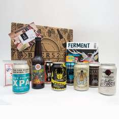 Beer52 8 beer gift pack, magazine & snack (1 month subscription worth £24) + £24 gift card for £20 via O2 Priorities