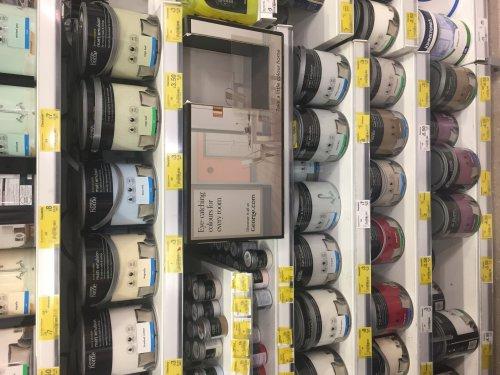 Paint -Asda Living Walsall  reduced from £12 to £3.00 Matt £3.50 silk