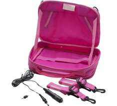 Portable DVD/Gadget Bag for car seat mounting in PINK £5.99 from £29.99 at Argos free C&C