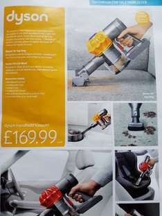 Dyson Top Dog and Car & Boot Handheld Vacuum only £169.99 @ Aldi from 23rd February