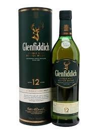 Glenfiddich single Malt 12 Year Old Scotch Whisky £25 Tesco