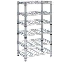 HOME Slimline 24 Bottle Wine Rack - Metal now £19.99 was £69.99 at Argos Free C&C
