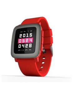 Pebble Time Fitness Smart watch RED £59.95 @ Argos