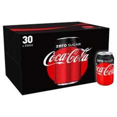 30 cans pack Coke, Coke Zero & Diet Coke @ £6 Asda (instore) (only coke zero shows as £6 online)