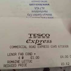 Lenor Fabric Conditioner Ocean Escape 925ml £1.00 @ Tesco instore