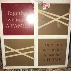 family canvas 50p instore @ wilko - Leeds