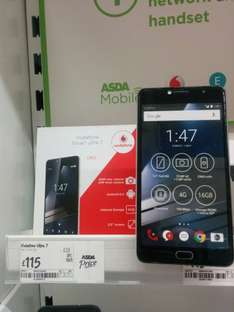 Vodafone Smart Ultra 7 £115 - Asda In store only