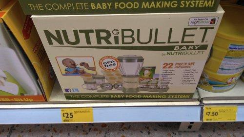 Nutribullet baby £25 instore @ Morrisons