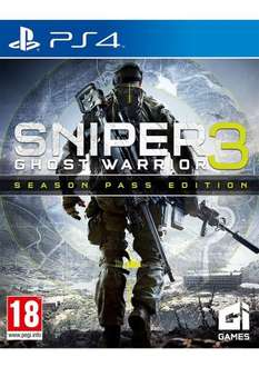 Sniper Ghost Warrior 3 + season pass for £39.85 @simplygames