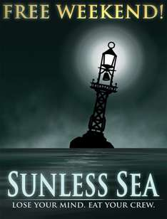 Sunless Sea PC £4.75 and free to play until Sun 21:00 (Steam) @ Steam