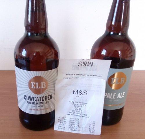 M&S - ELB Cowcatcher American Pale Ale 500ml £1.40 instore