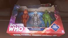Dr who figures set of 3 - £2.99 instore @ B&M