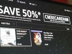 Battlefront ps4/ the force awakens movie £15 @ ps store Deluxe edition extra £8