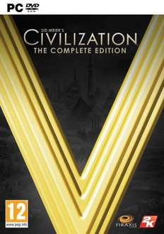 [Steam] Sid Meier's Civilization V: The Complete Edition - £7.35 @ GamersGate