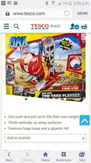 Max tow truck tow yard now £4 usually £25 @ Tesco Direct