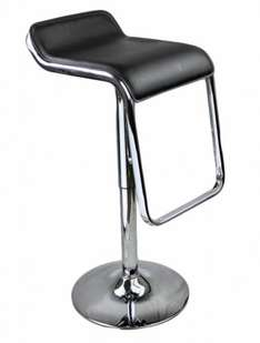 2 x Chrome Kitchen Bar Stool Barstools PU Swivel Stools £32.99 @ uhsonline / ebay